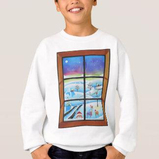 Gulliga anaimals som tittar till och med ett tshirts