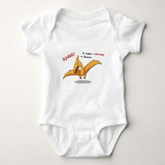 gulliga dinosaurrawrelak älskar jag dig tröja