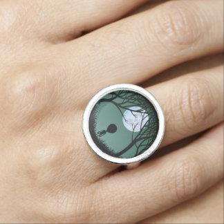 Gulliga E.T. Ringa Utomjordisk för främlingringar Foto Ringar