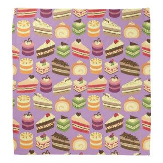Gulliga & färgrika illustrerat mönster för Tea Bandana