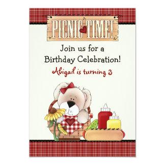 Gulliga flickor för ~ för inbjudan för födelsedag