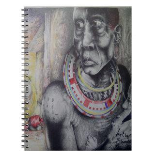 Gulliga Hakuna Matata med lejon och Spiral Anteckningsbok