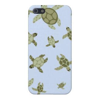 Gulliga havssköldpaddor iPhone 5 skydd