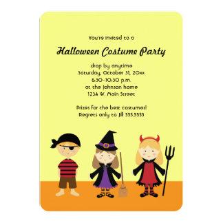 Gulliga inbjudningar för party för Halloween