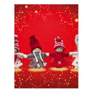 Gulliga jultecken vykort
