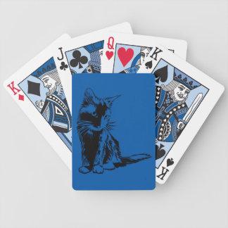 gulliga kattkort spelkort