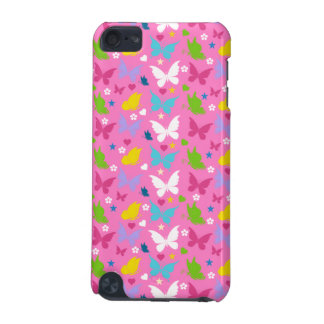 Gulliga lite rosa fjärilar iPod touch 5G fodral