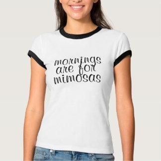 gulliga morgnar är för mimosasrolig tröjadesign tröjor