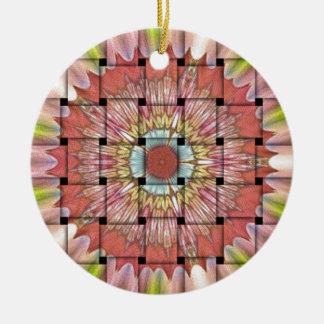 Gulliga Nice och älskvärd vävd design Julgransprydnad Keramik