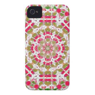 Gulliga rosa märkes- blackberry fodralkvinna gåva iPhone 4 Case-Mate fodral