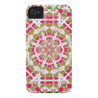 Gulliga rosa märkes- blackberry fodralkvinna gåva iPhone 4 Case-Mate skal