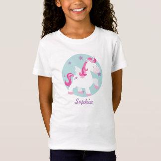 Gulliga rosor personifierad Magical UnicornT-tröja T Shirts