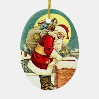Gulliga Santa julprydnadar Julgransdekorationer