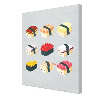 Gulliga Sushi Canvastryck