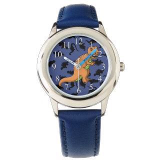 Gulliga T-Rex lurar klockan Armbandsur
