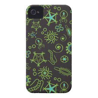 Gulligt Amoebablackberry boldfodral iPhone 4 Case-Mate Cases