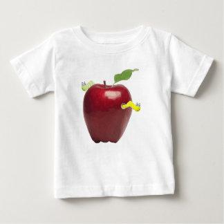 Gulligt avmaskar lite på röda Apple Tshirts