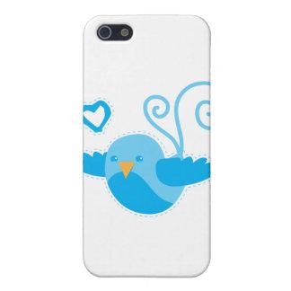 gulligt birdy för mamma iPhone 5 fodral