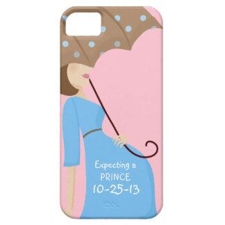 Gulligt datera rakt gender avslöjer gravid kvinna iPhone 5 Case-Mate cases