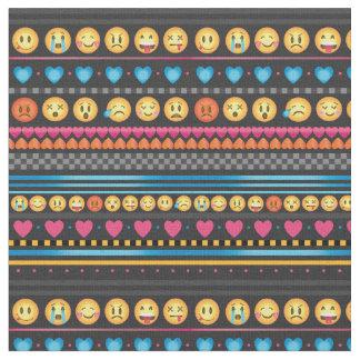 Gulligt Emoji randtyg Tyg