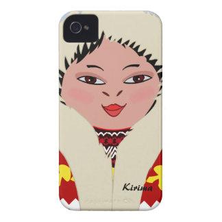 Gulligt fodral för blackberry bold för eskimåteckn iPhone 4 cover