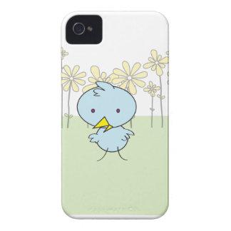 Gulligt fodral för blåttpippiblackberry bold iPhone 4 skal