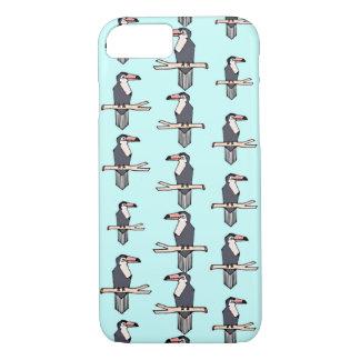 Gulligt fodral för iPhone 7 för Toucan