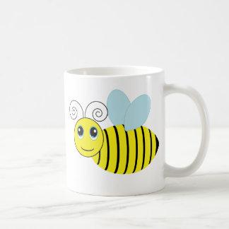 Gulligt honungbi kaffemugg