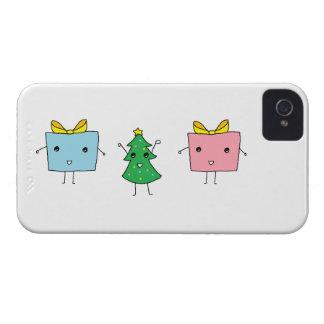 Gulligt julblackberry boldfodral iPhone 4 cases