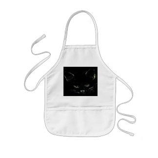 Gulligt kattungeförkläde barnförkläde