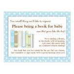 Gulligt kort för förfrågan för mellanlägg för baby vykort