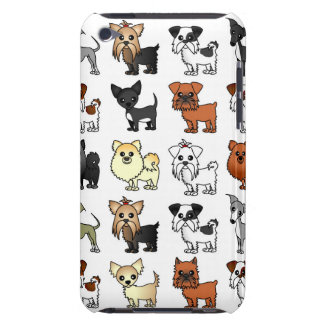 Gulligt leksakhund avelnmönster iPod touch covers