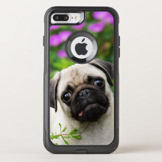 Gulligt lisma det kulöra fotoet för husdjuret för OtterBox commuter iPhone 7 plus skal