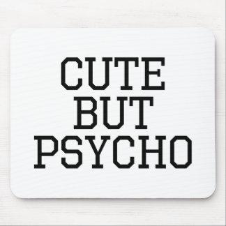 Gulligt men psykopat musmatta