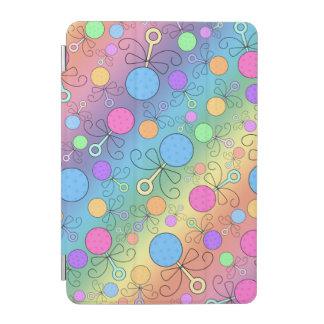Gulligt mönster för regnbågebebispladder iPad mini skydd