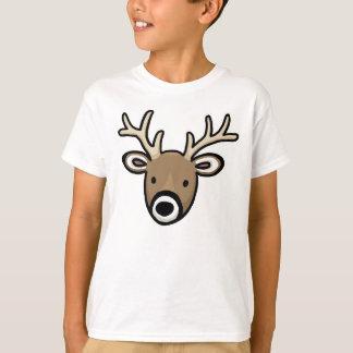 Gulligt och vänligt hjortansikte tröja