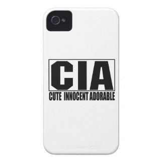 Gulligt oskyldigt förtjusande blackberry boldfodra iPhone 4 Case-Mate fodraler