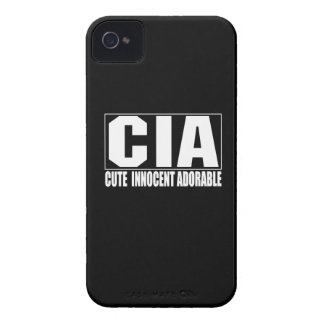 Gulligt oskyldigt förtjusande blackberry Case-Mate iPhone 4 fodral