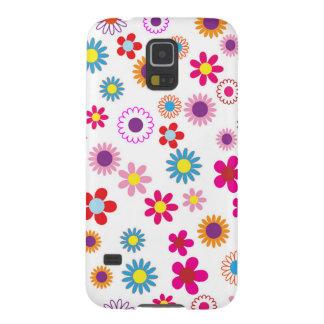 Gulligt Retro blom- fodral för Samsung galax S5 Galaxy S5 Fodral