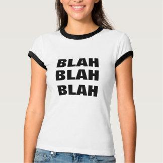 gulligt roligt blah - blah gåva för höftt-skjorta t-shirt