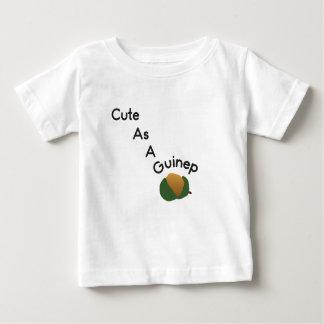 """Gulligt som en Guinep"" babyutslagsplats Tshirts"