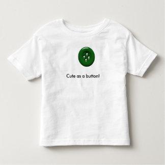 Gulligt som en knäppasTShirt för bebis T-shirts