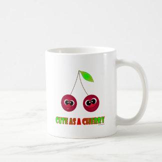 Gulligt som ett körsbär kaffemugg