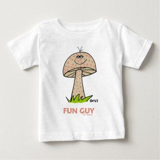Gulligt sött roligt för lycklig rolig pojketecknad t-shirt