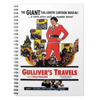 """Gullivers resor"" anteckningsbok"