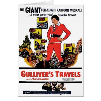 """Gullivers resor"" kort"