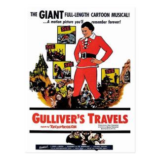 """Gullivers resor"" vykort"