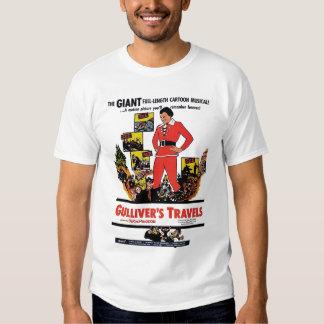 """""""Gullivers skjorta för resor"""" utslagsplats Tee Shirts"""