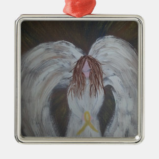 Gult band Angel.jpg Julgransprydnad Metall