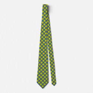 Gult blommaband slips
